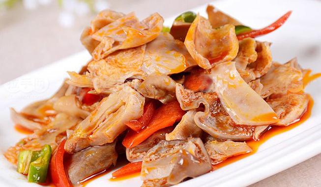 红油肚片-神悦养生板栗鸡